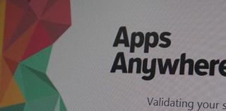 Apps Anywhere splash screen