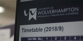 University of Wolverhampton Timetable