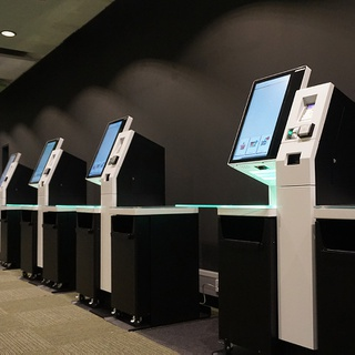 RFID Kiosks at the University of Wolverhampton City Library