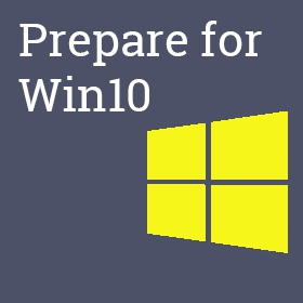 Prepare your device for Windows 10