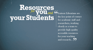 Resources for You and Your Students