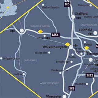 Visit Us map
