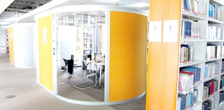 library pods ground floor Harrison