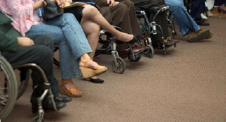 Disability - Button - ISTOCK