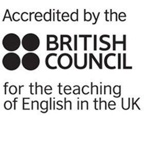 British Council Accreditation button use