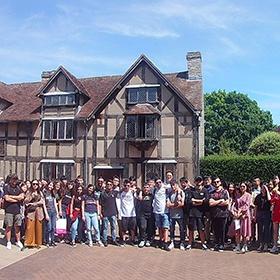 Stratford Summer School students