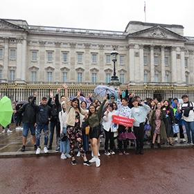 Summer School students in London