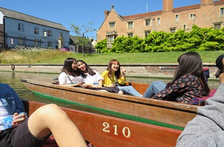 small cambridge on boats