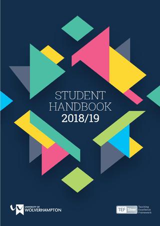 Student Handbook 2018/19
