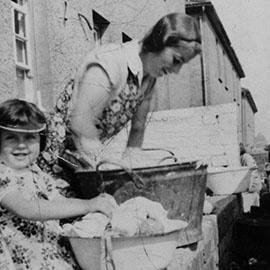 Image of washing